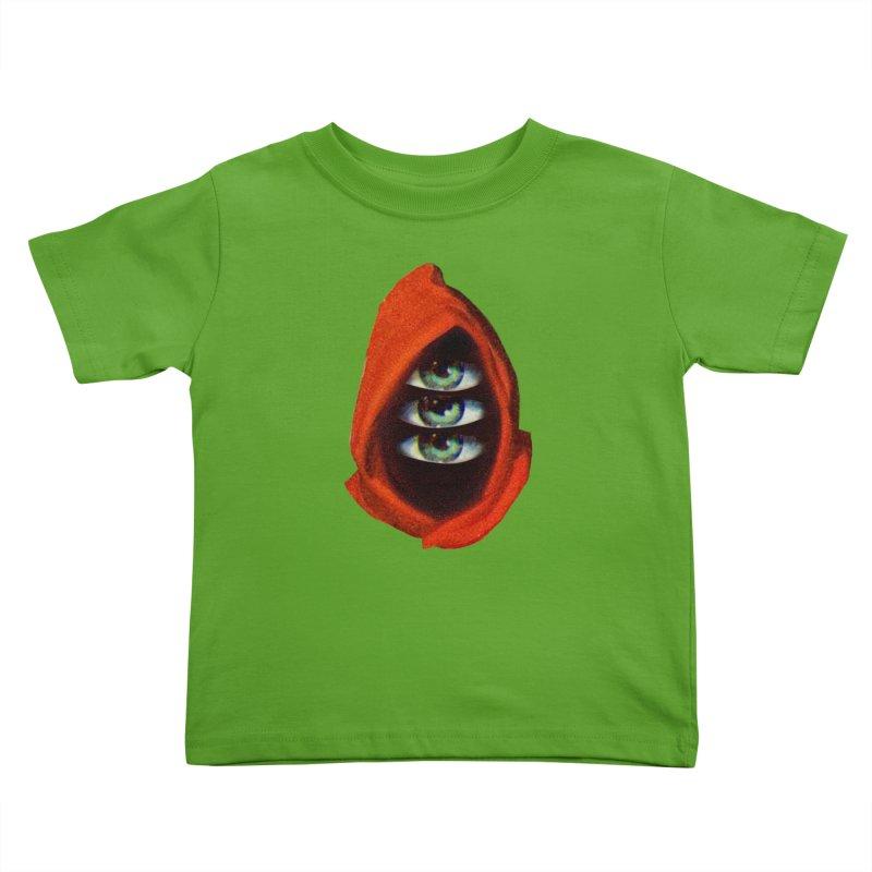 Three Eyed Druid Kids Toddler T-Shirt by Tom Burns