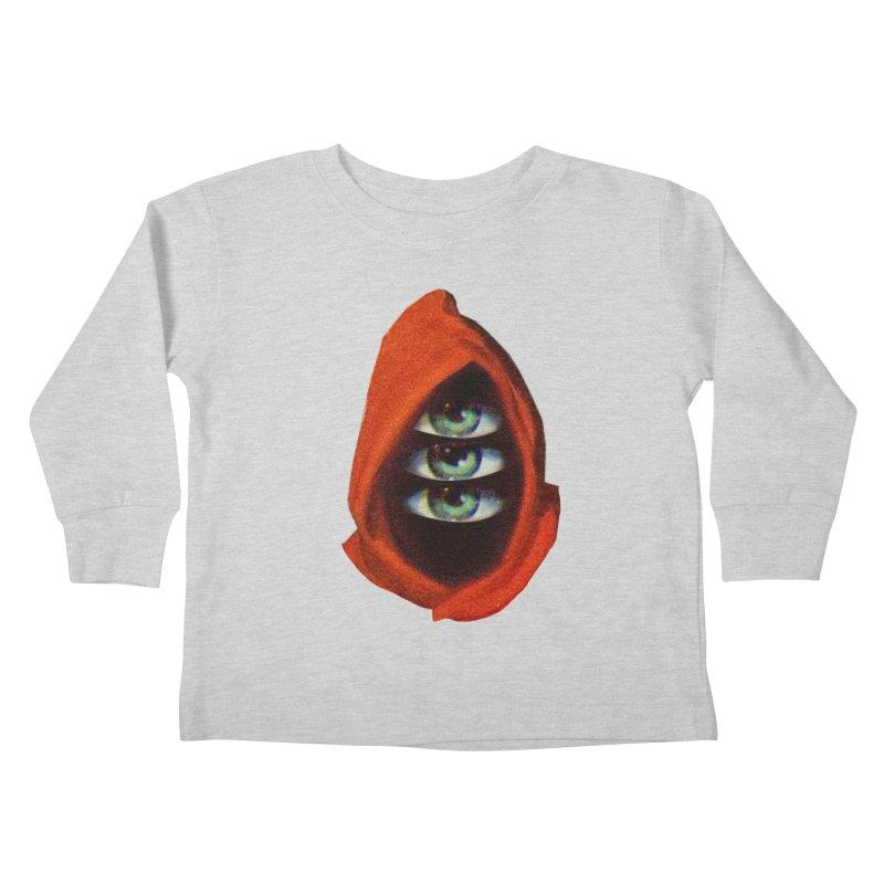 Three Eyed Druid Kids Toddler Longsleeve T-Shirt by Tom Burns
