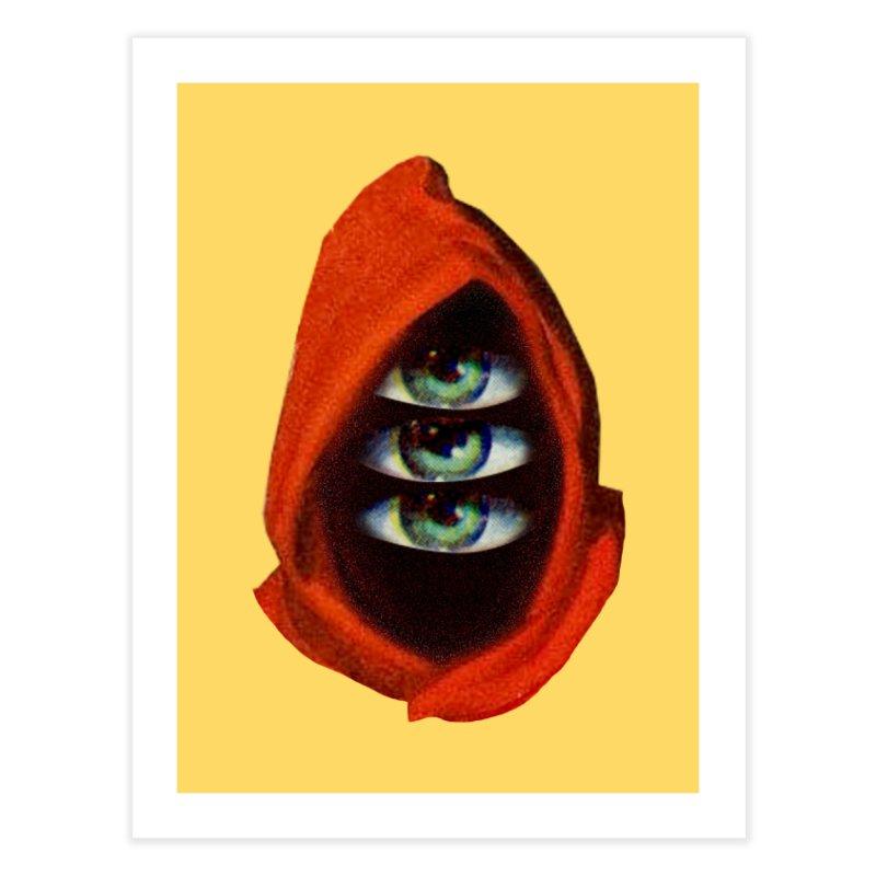 Three Eyed Druid Home Fine Art Print by Tom Burns