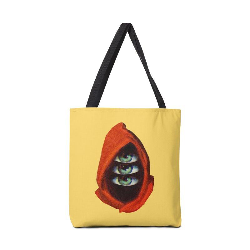 Three Eyed Druid Accessories Tote Bag Bag by Tom Burns