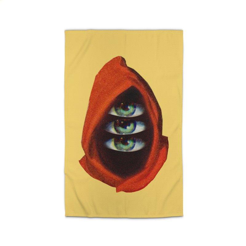 Three Eyed Druid Home Rug by Tom Burns