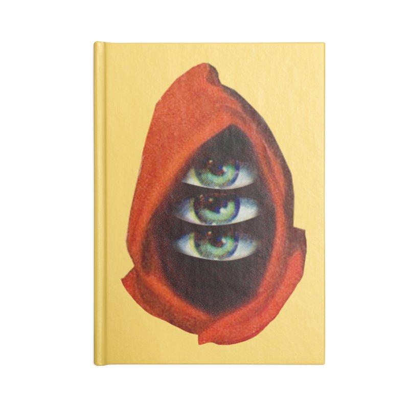 Three Eyed Druid Accessories Blank Journal Notebook by Tom Burns