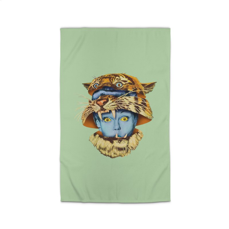 Tiger Lady Home Rug by Tom Burns