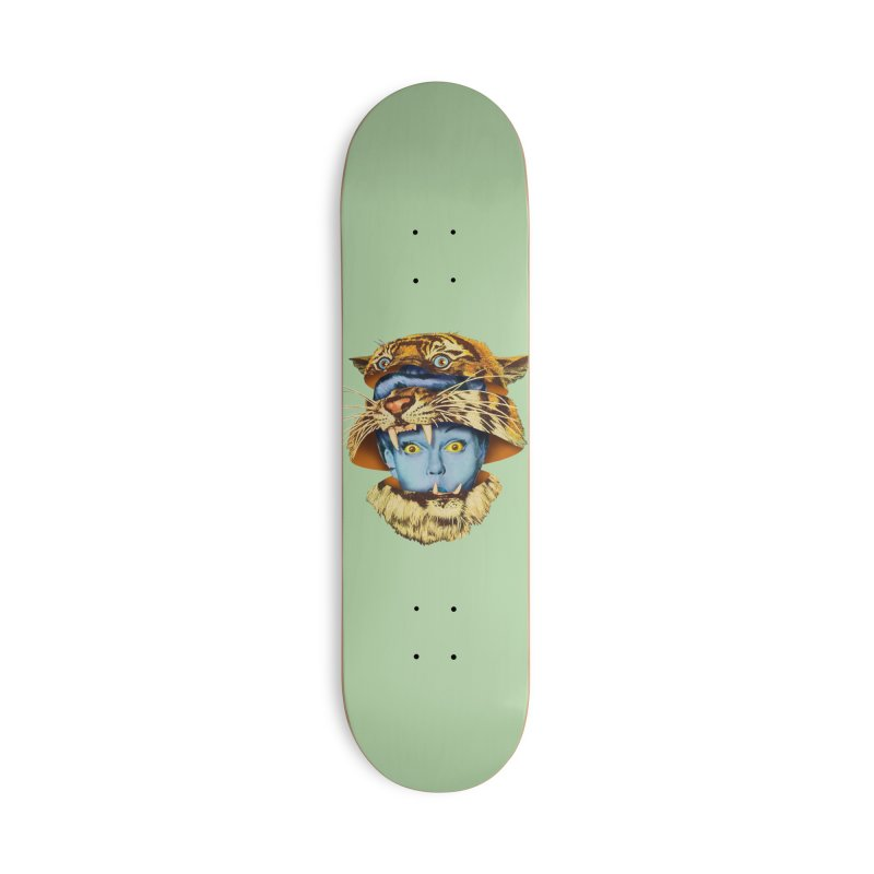 Tiger Lady Accessories Skateboard by Tom Burns