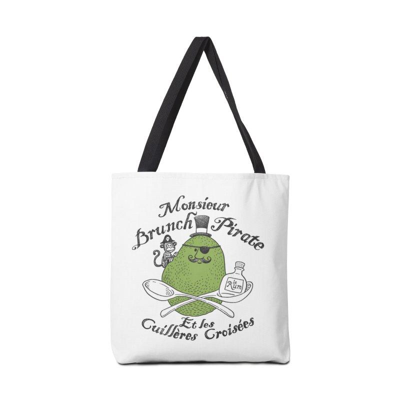Avocado Brunch Pirate Accessories Tote Bag Bag by Tom Chitty merch, yo.