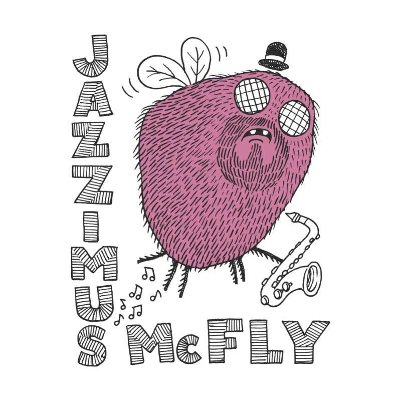 The Jazz Fly Men's T-Shirt by Tom Chitty merch, yo.