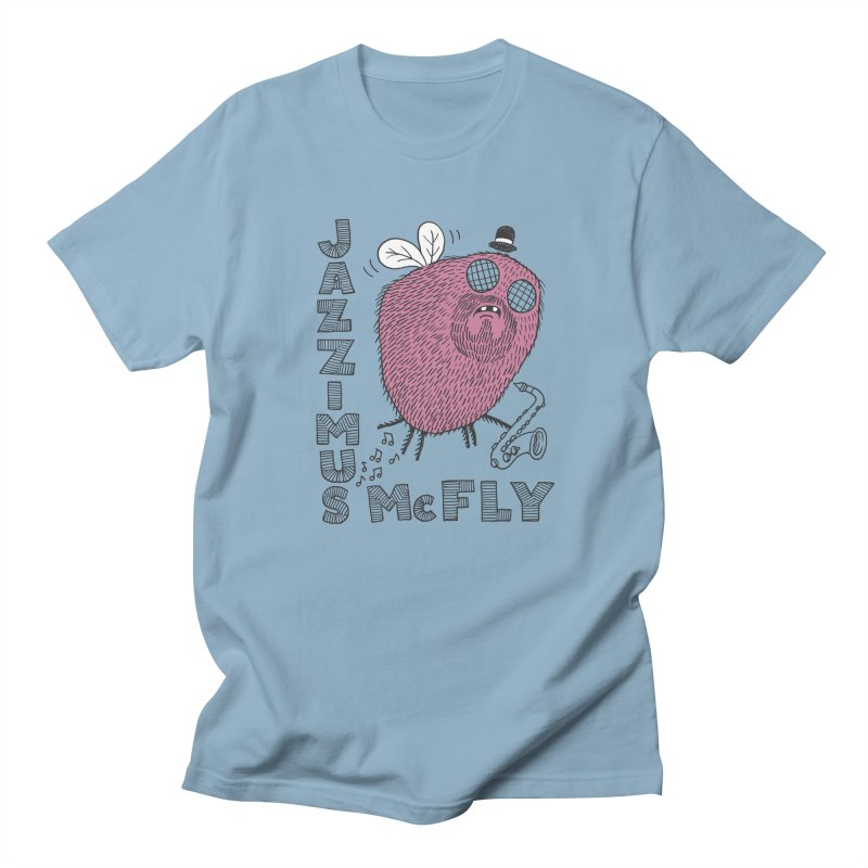 The Jazz Fly Women's Regular Unisex T-Shirt by Tom Chitty merch, yo.
