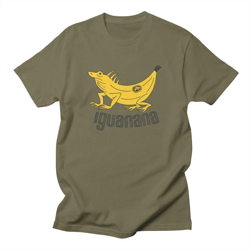 Iguanana Women's Regular Unisex T-Shirt by Tom Chitty merch, yo.
