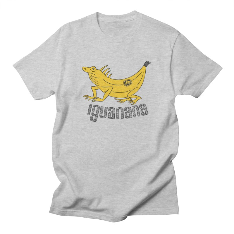 Iguanana Women's Regular Unisex T-Shirt by Tom Chitty merch, yo.