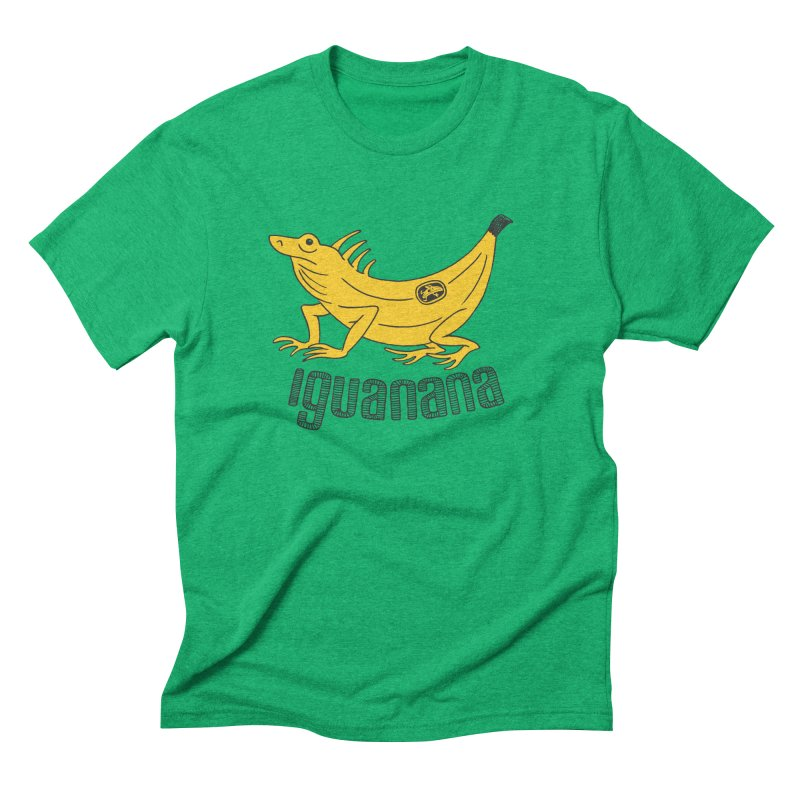 Iguanana Men's Triblend T-Shirt by Tom Chitty merch, yo.