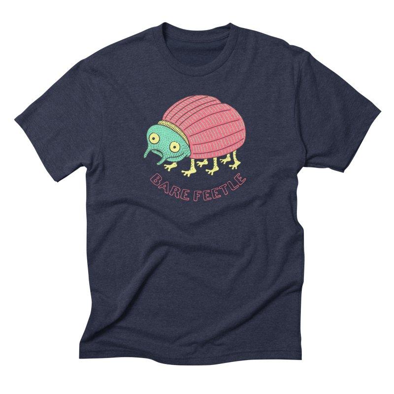 Bare Feetle Men's Triblend T-Shirt by Tom Chitty merch, yo.