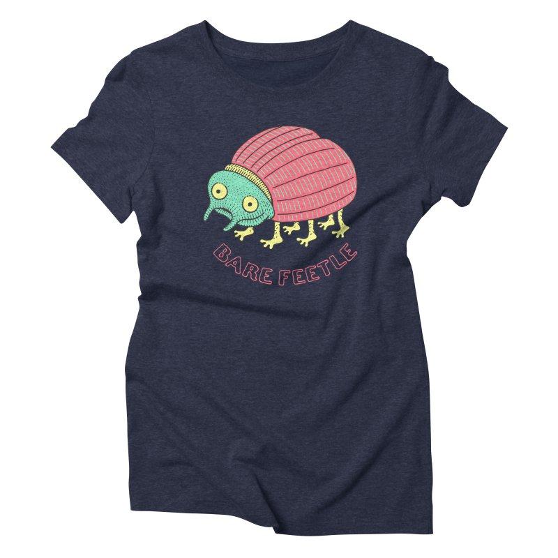Bare Feetle Women's T-Shirt by Tom Chitty merch, yo.