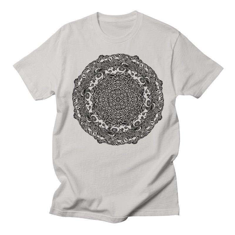 On the Vine (Black) Men's T-Shirt by tomcornish's Artist Shop