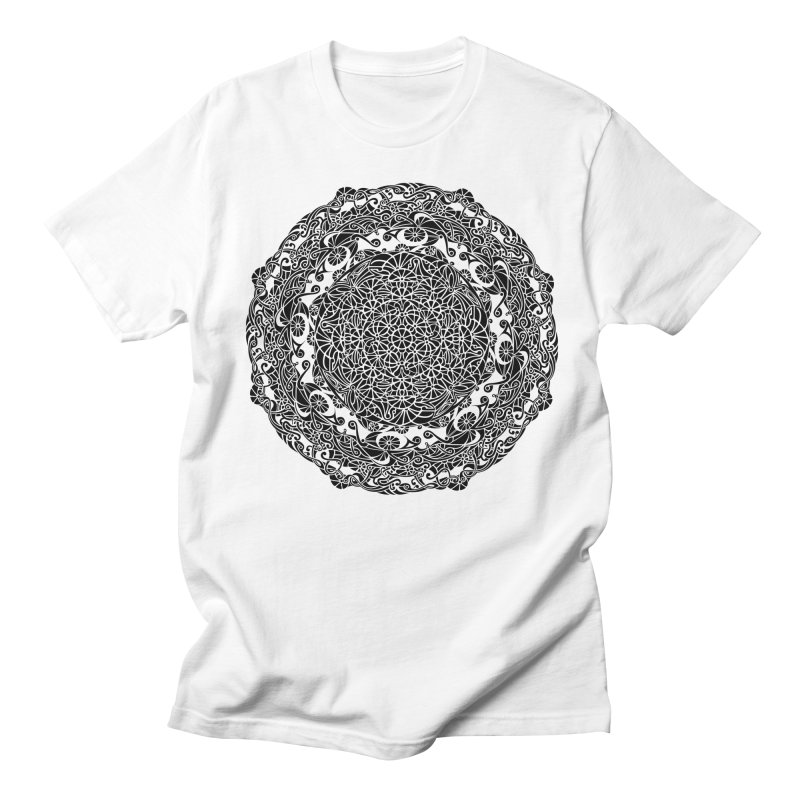 On the Vine (Black) Women's Regular Unisex T-Shirt by tomcornish's Artist Shop