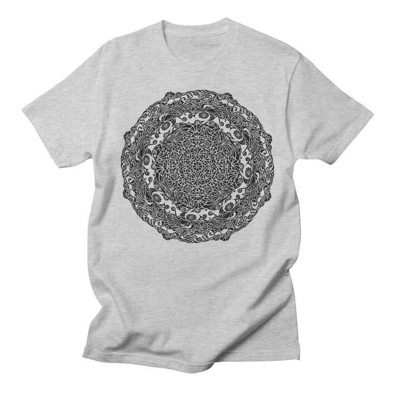 On the Vine (Black) Men's T-Shirt by tomcornish's Artist Shop
