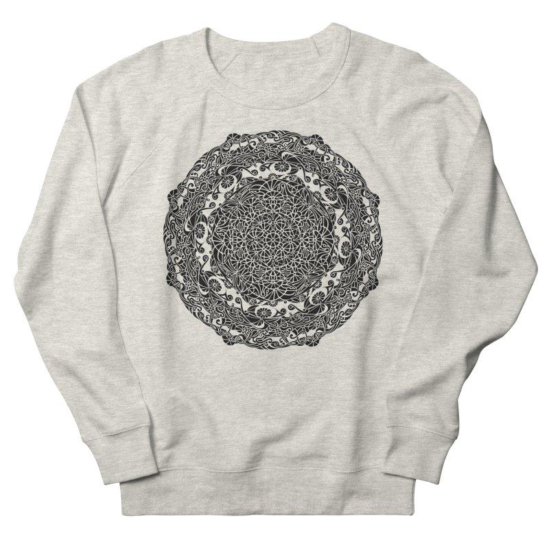 On the Vine (Black) Men's Sweatshirt by tomcornish's Artist Shop
