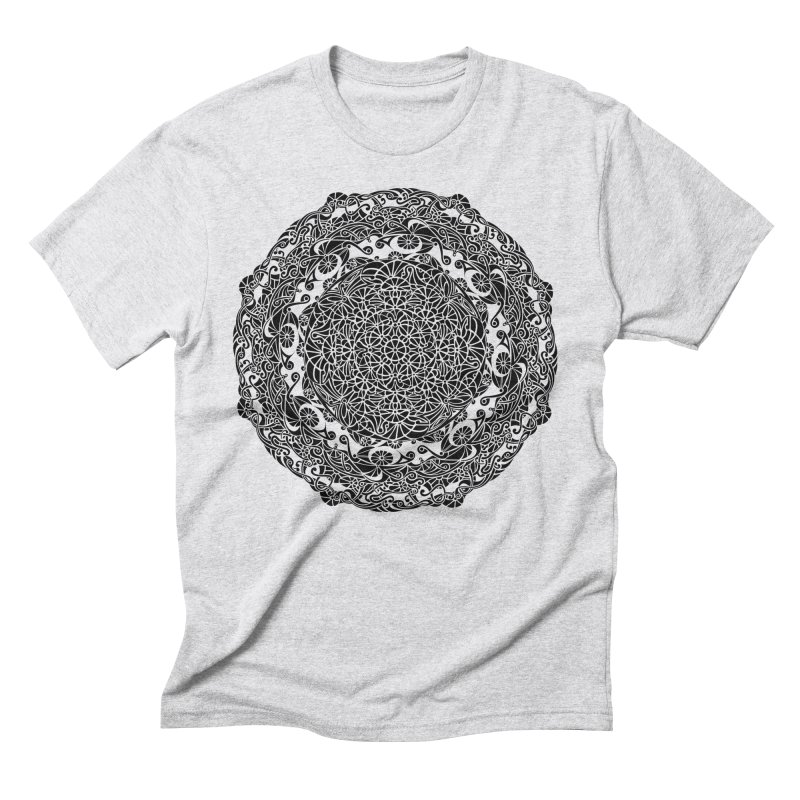 On the Vine (Black) Men's Triblend T-Shirt by tomcornish's Artist Shop