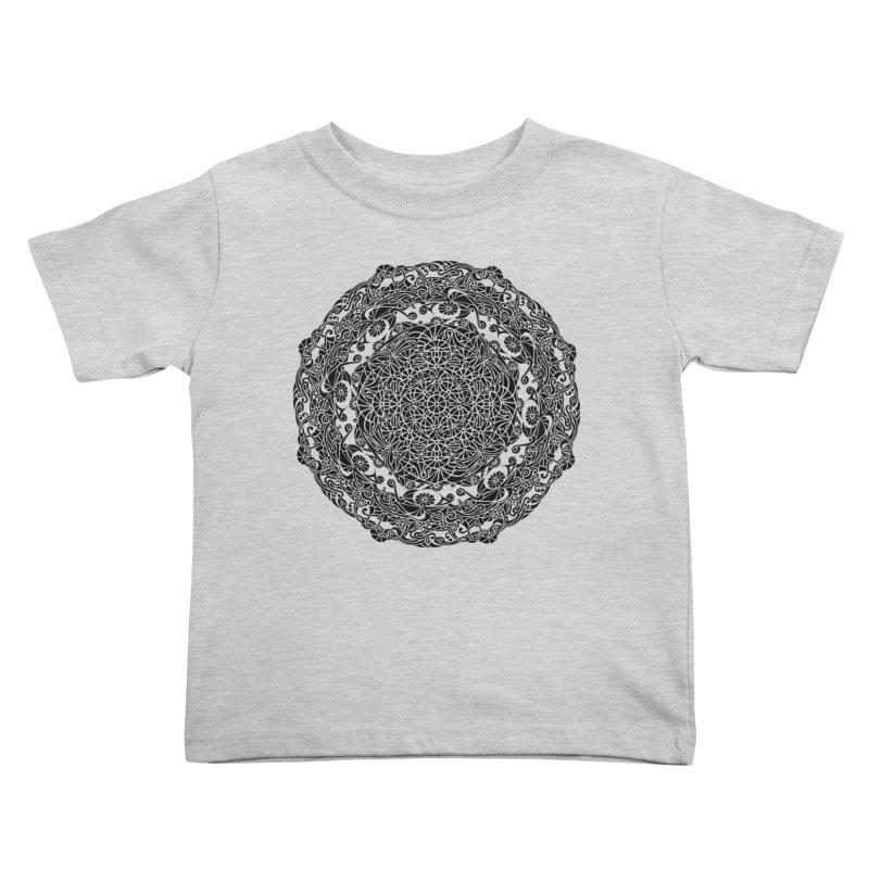 On the Vine (Black) Kids Toddler T-Shirt by tomcornish's Artist Shop