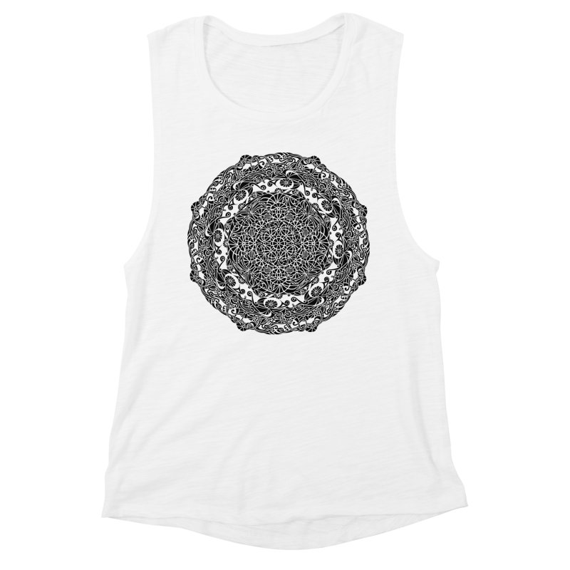 On the Vine (Black) Women's Tank by tomcornish's Artist Shop