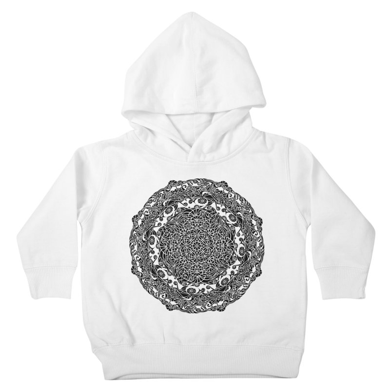 On the Vine (Black) Kids Toddler Pullover Hoody by tomcornish's Artist Shop
