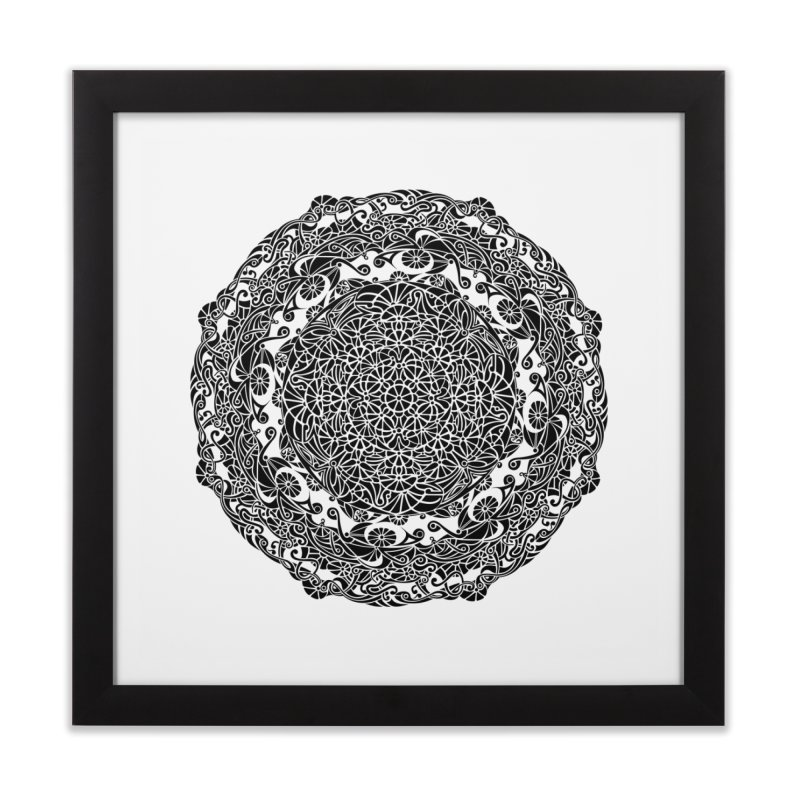 On the Vine (Black) Home Framed Fine Art Print by tomcornish's Artist Shop