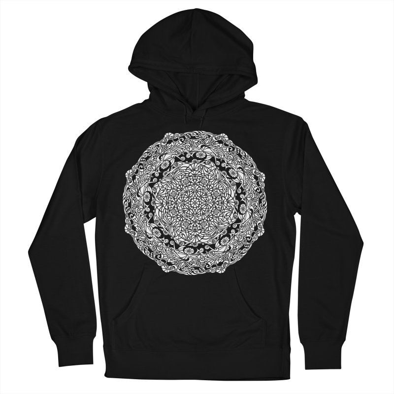 On the Vine (White) Women's French Terry Pullover Hoody by tomcornish's Artist Shop