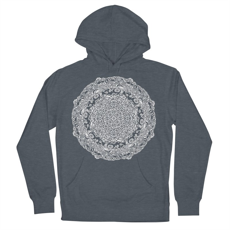 On the Vine (White) Men's French Terry Pullover Hoody by tomcornish's Artist Shop