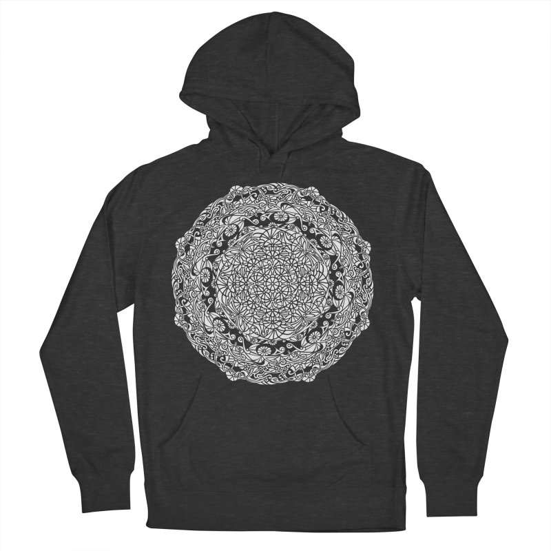 On the Vine (White) Men's Pullover Hoody by tomcornish's Artist Shop