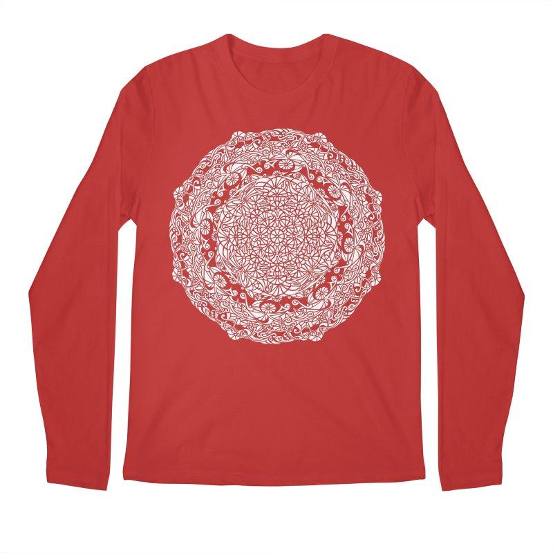 On the Vine (White) Men's Regular Longsleeve T-Shirt by tomcornish's Artist Shop