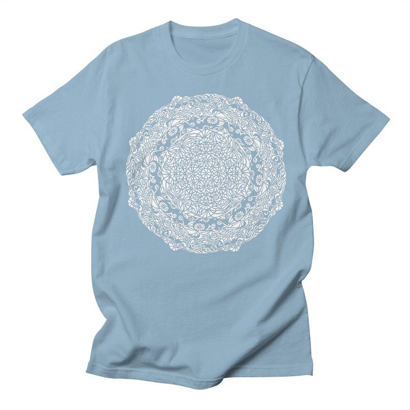 On the Vine (White) Men's Regular T-Shirt by tomcornish's Artist Shop