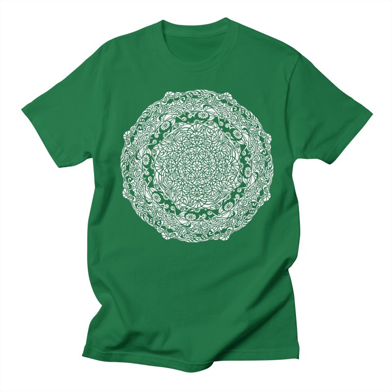 On the Vine (White) Men's T-Shirt by tomcornish's Artist Shop