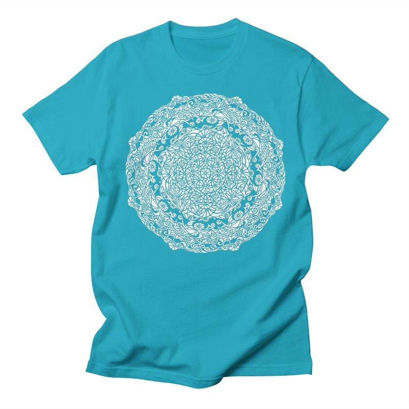 On the Vine (White) Men's T-Shirt by tomcornish's Artist Shop