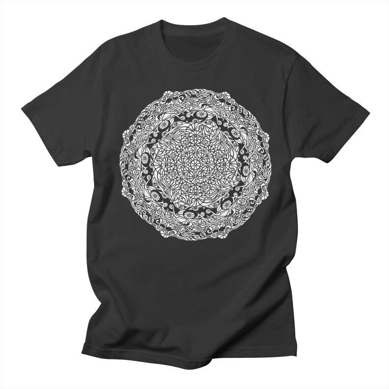 On the Vine (White) Women's Regular Unisex T-Shirt by tomcornish's Artist Shop