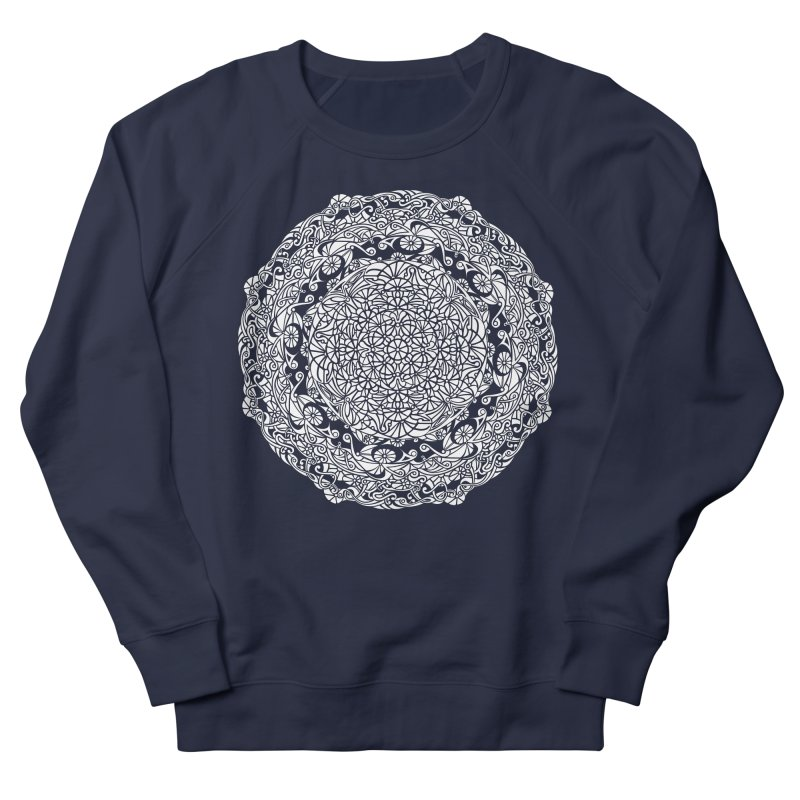 On the Vine (White) Women's French Terry Sweatshirt by tomcornish's Artist Shop