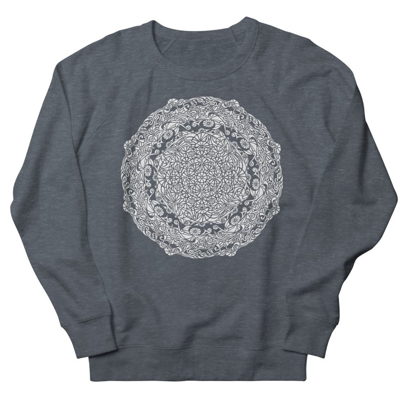 On the Vine (White) Men's French Terry Sweatshirt by tomcornish's Artist Shop