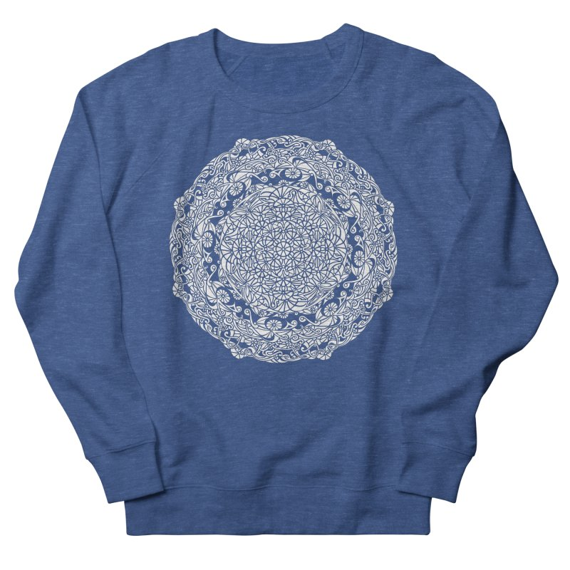 On the Vine (White) Men's Sweatshirt by tomcornish's Artist Shop