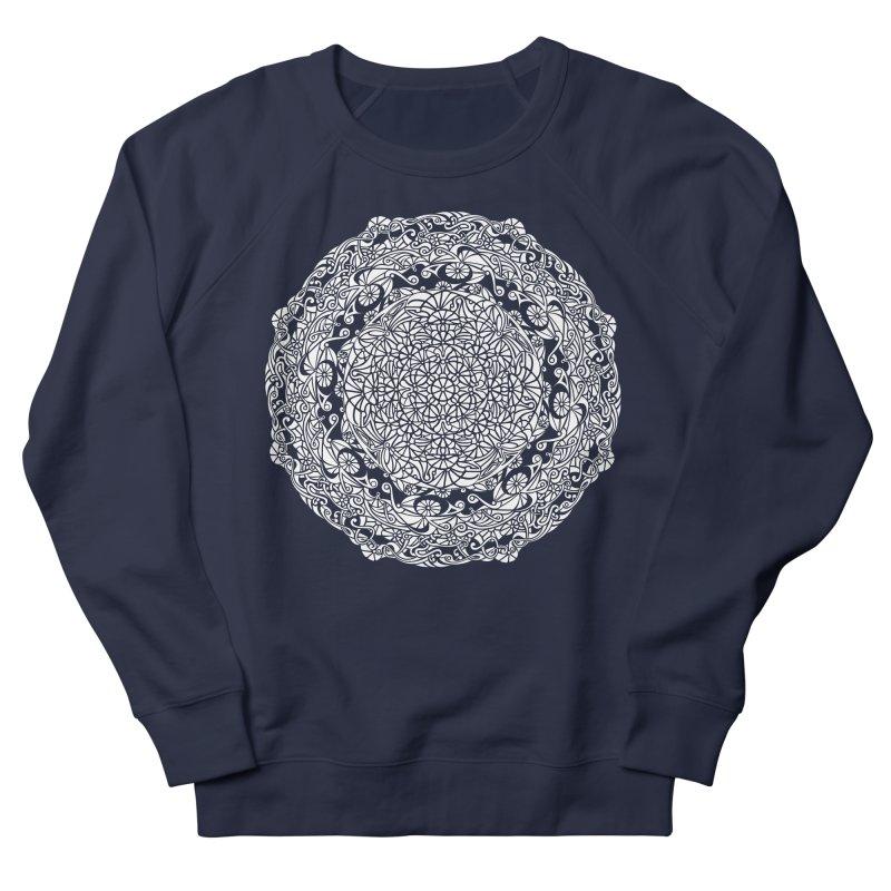 On the Vine (White) Men's French Terry Sweatshirt by tomcornish's Artist Shop