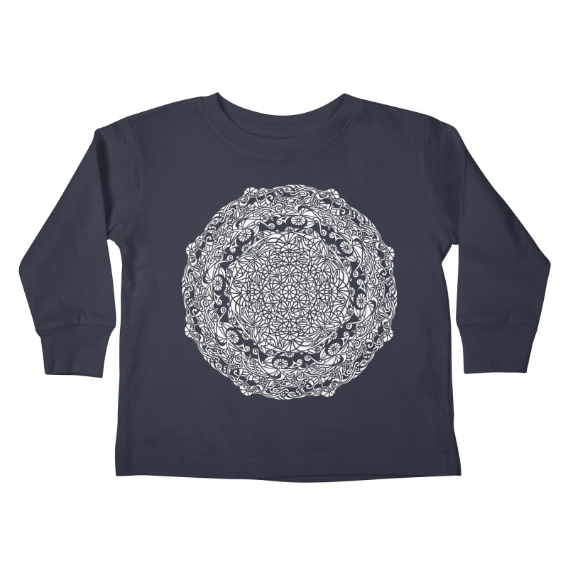 On the Vine (White) Kids Toddler Longsleeve T-Shirt by tomcornish's Artist Shop