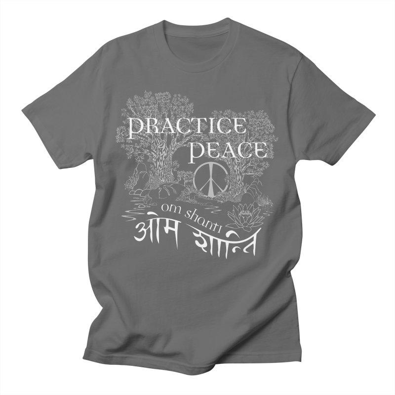 Practice Peace Men's T-Shirt by tomcornish's Artist Shop