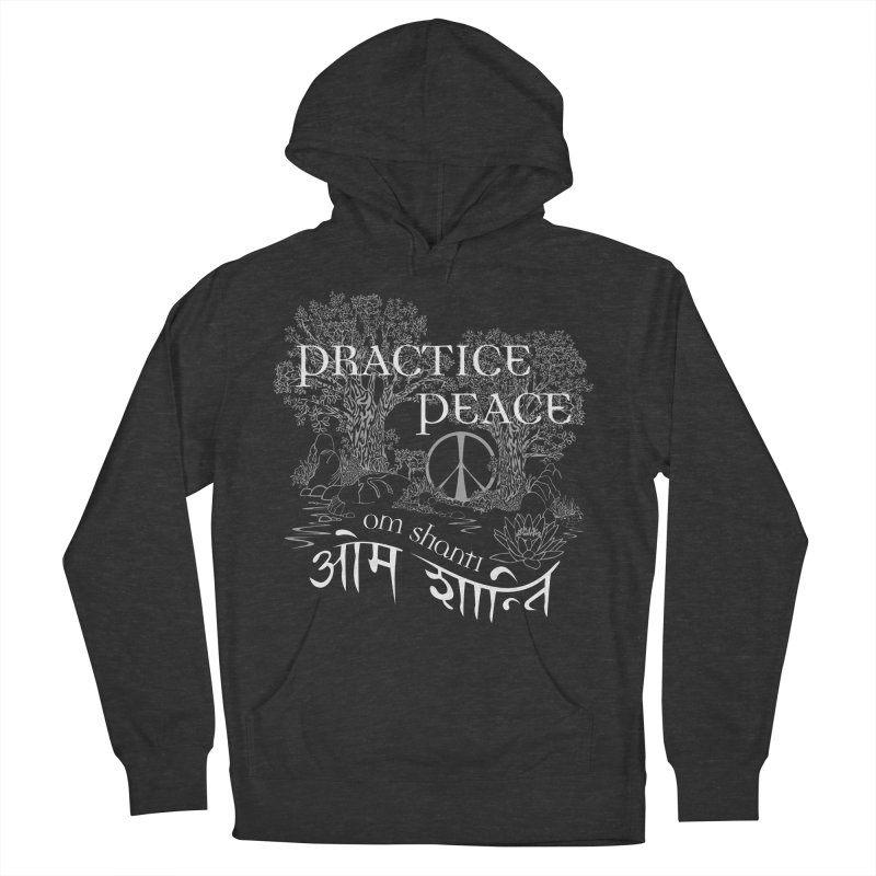 Practice Peace Men's Pullover Hoody by tomcornish's Artist Shop
