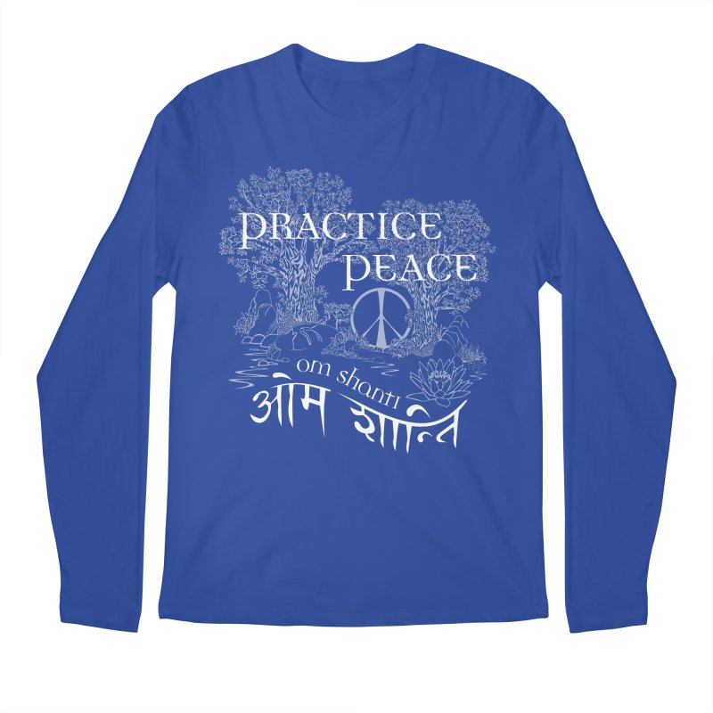 Practice Peace Men's Longsleeve T-Shirt by tomcornish's Artist Shop