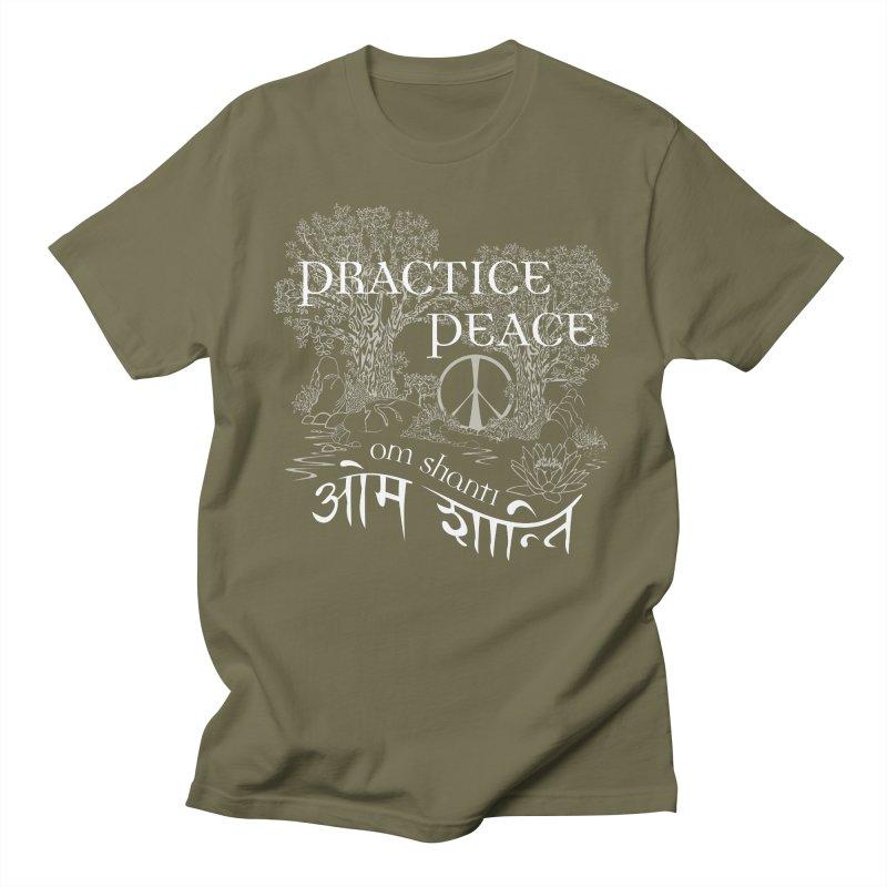 Practice Peace Women's Regular Unisex T-Shirt by tomcornish's Artist Shop