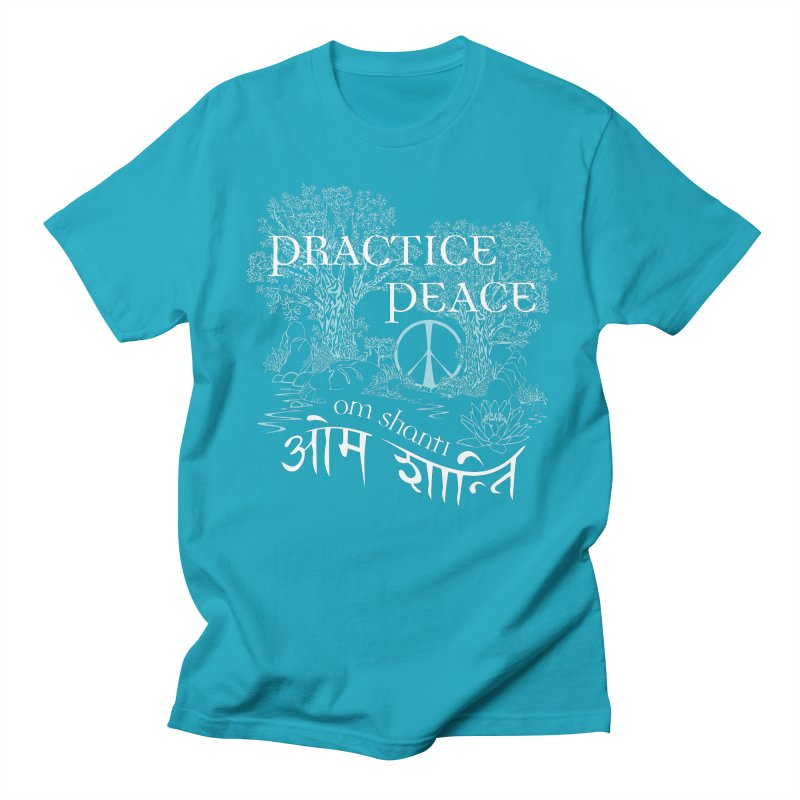 Practice Peace Women's Regular Unisex T-Shirt by tomcornish's Artist Shop