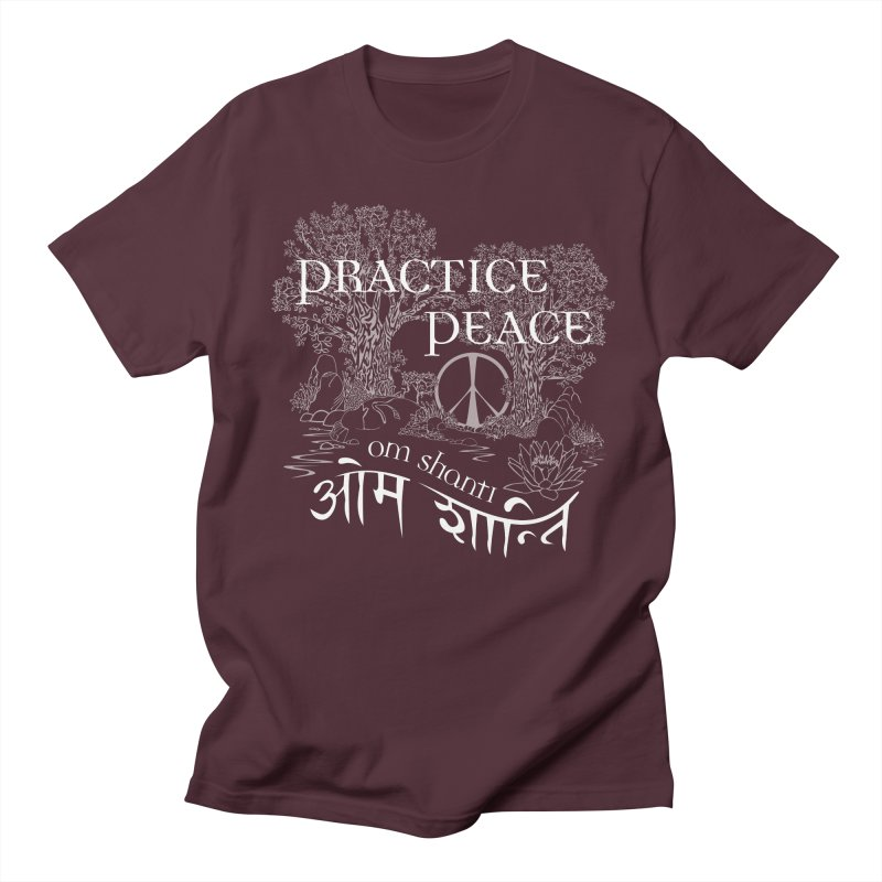 Practice Peace Women's Unisex T-Shirt by tomcornish's Artist Shop