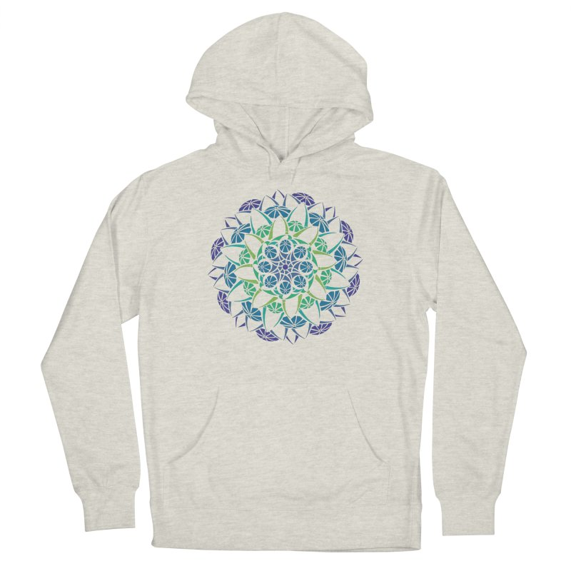 Blooming Men's French Terry Pullover Hoody by tomcornish's Artist Shop