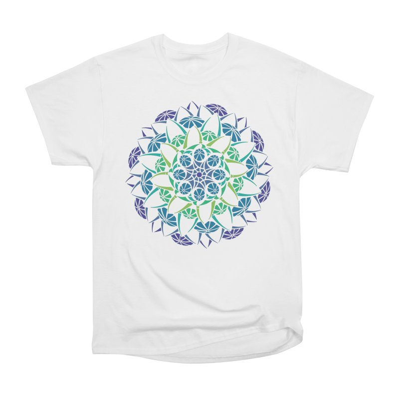 Blooming Women's Heavyweight Unisex T-Shirt by tomcornish's Artist Shop