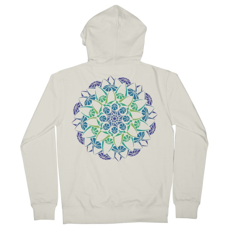 Blooming Women's Zip-Up Hoody by tomcornish's Artist Shop