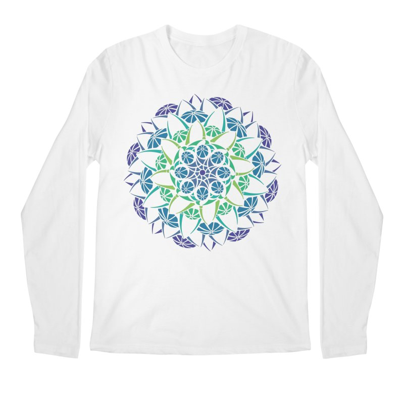 Blooming Men's Regular Longsleeve T-Shirt by tomcornish's Artist Shop