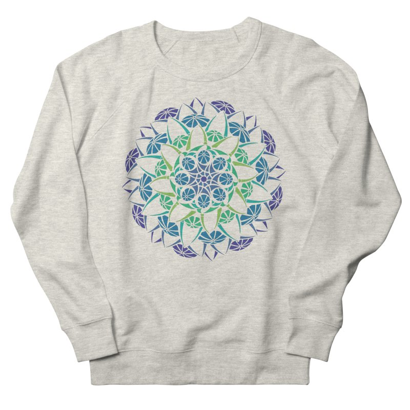 Blooming Women's French Terry Sweatshirt by tomcornish's Artist Shop