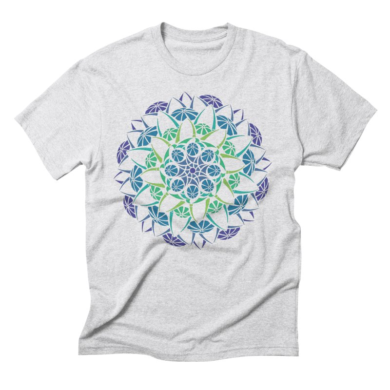 Blooming Men's Triblend T-Shirt by tomcornish's Artist Shop
